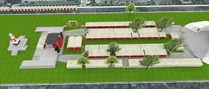 Konsep Layout Pameran Banda Aceh Expo 2014