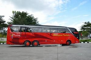 bus terbaru harapan indah
