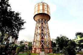 Menara-Tower-air -tirtanadi-kota medan