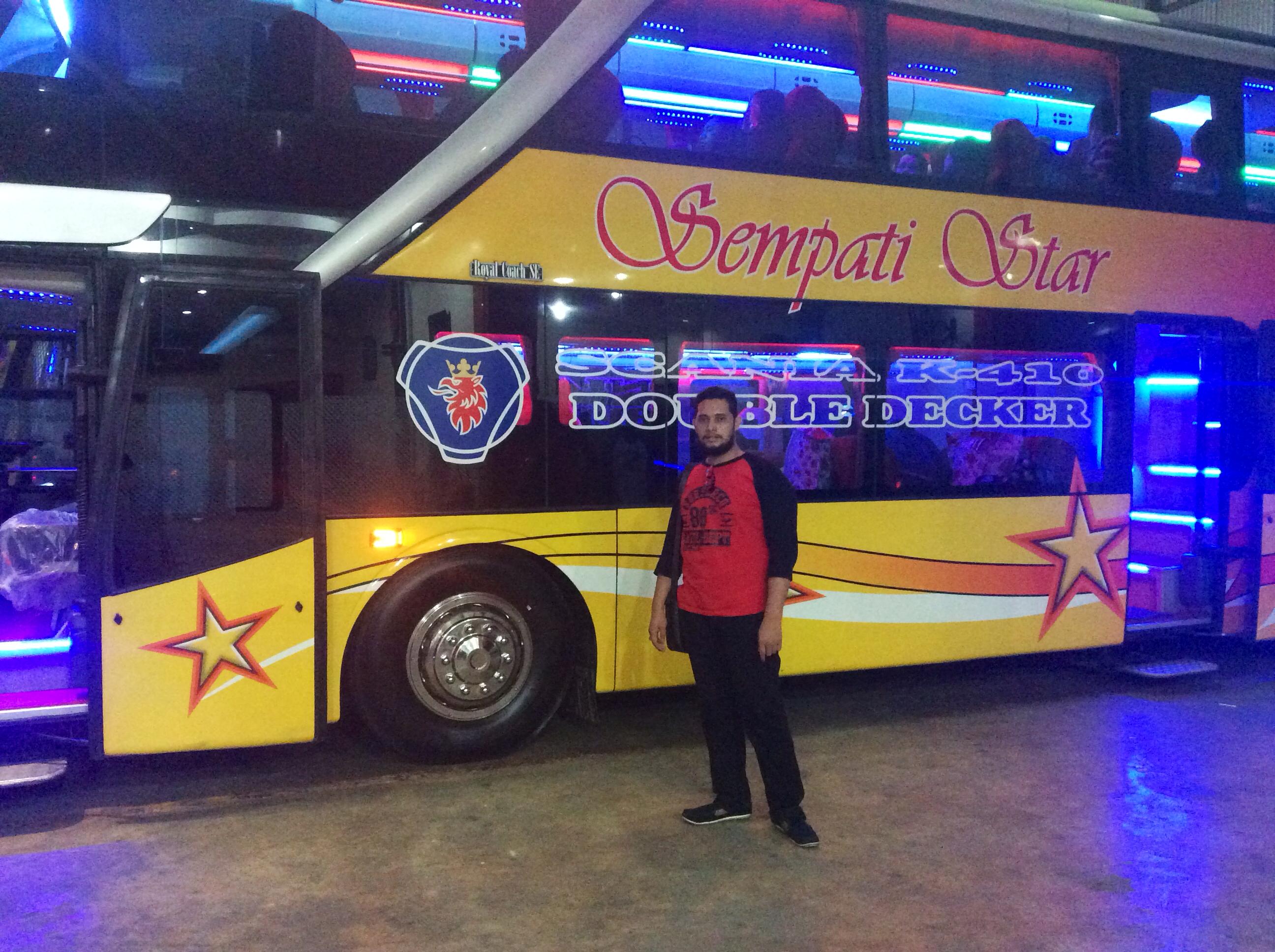 razi ramadhan-bus aceh-double decker